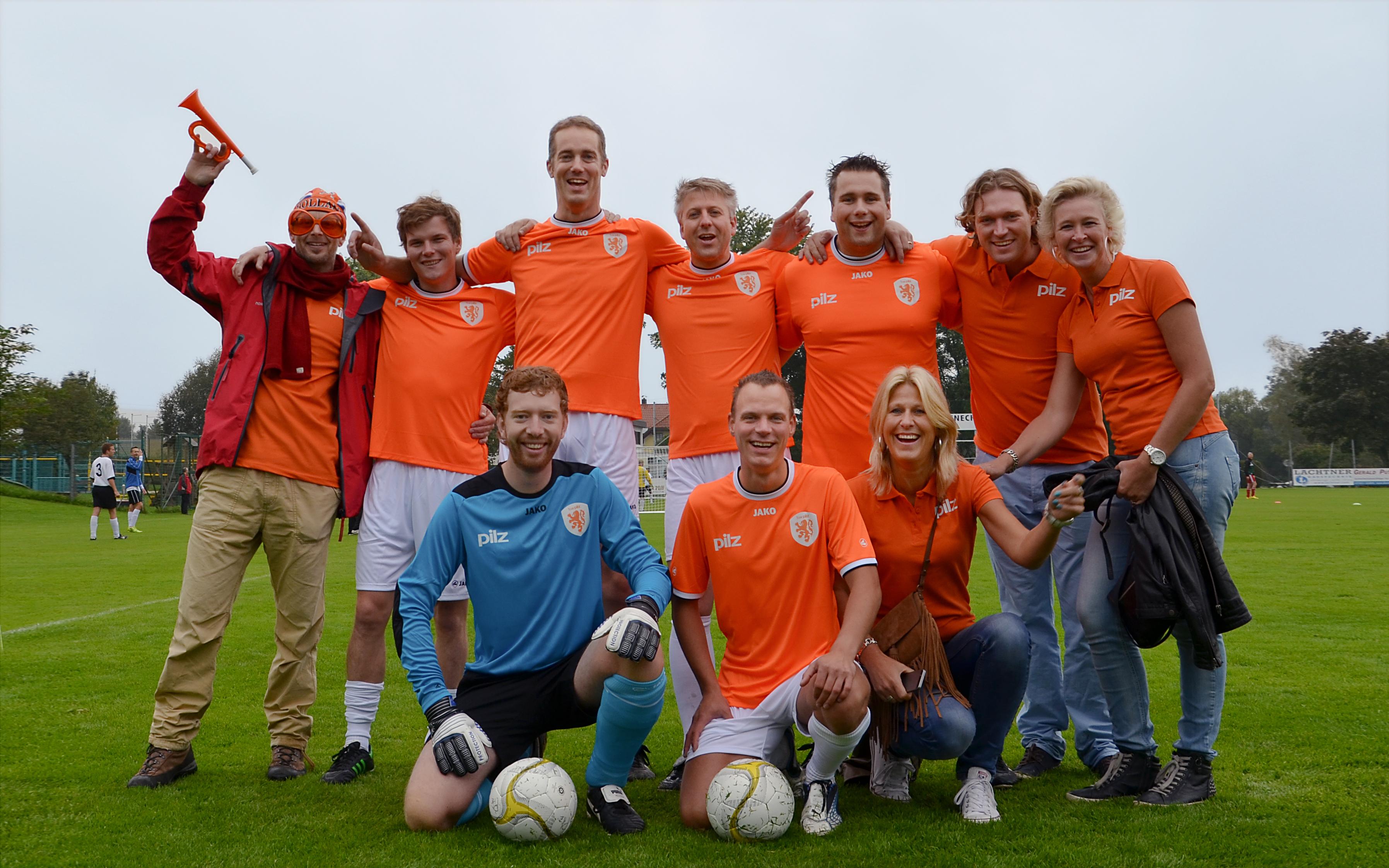 Over Pilz - voetbalteam • Werken bij Pilz